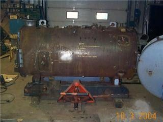 large boiler in shop